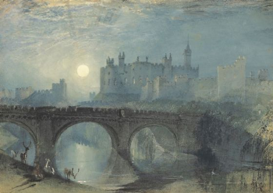 Turner, William: Alnwick Castle. Fine Art Print/Poster. Sizes: A1/A2/A3/A4 (00563)
